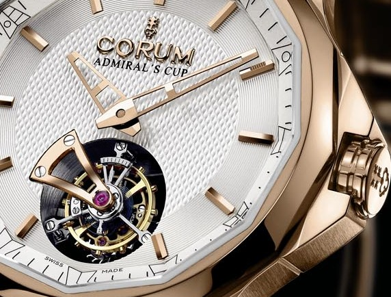 Admiral's Cup Legend 42 Tourbillon Micro-Rotor Weightless elegance 海軍上將42微型自動盤陀飛輪腕錶