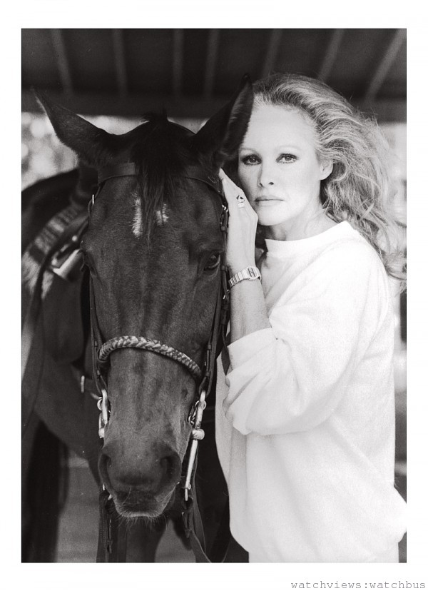 Ursula Andress配戴Polo腕錶