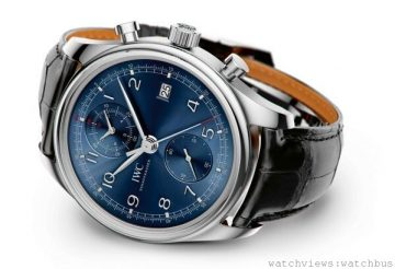 "IWC萬國錶第八次推出勞倫斯體育公益基金會特別版腕錶──Portuguese ChronographClassic Edition ""Laureus Sport for Good Foundation"""