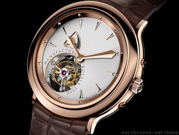 [2014 Basel] Manufacture Royale 1770腕錶