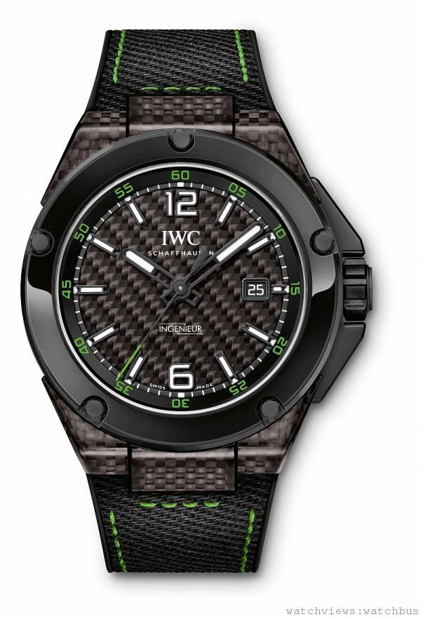 IWC INGENIEUR AUTOMATIC CARBON PERFORMANCE CERAMIC