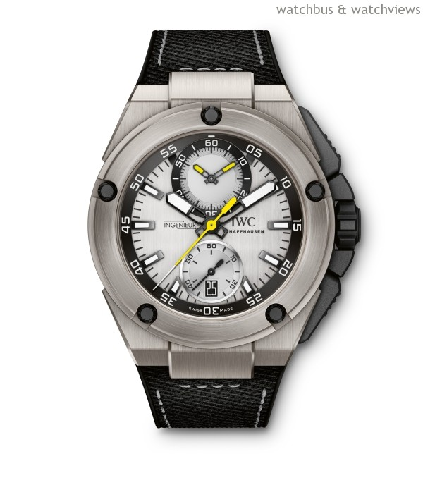 IWC PRESENTS DRIVERS WATCHES