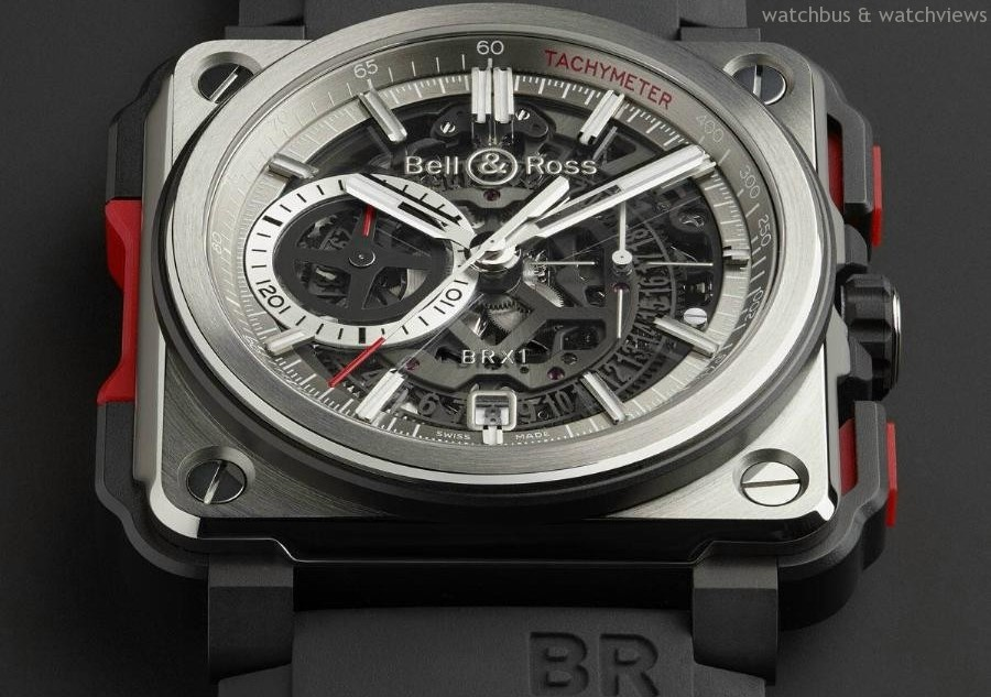 革命性設計現身 – Bell & Ross BR-X1 Skeleton Chronograph鏤空計時碼錶