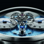 MB&F Legacy Machine No. 1 鉑金,湛藍亮相!