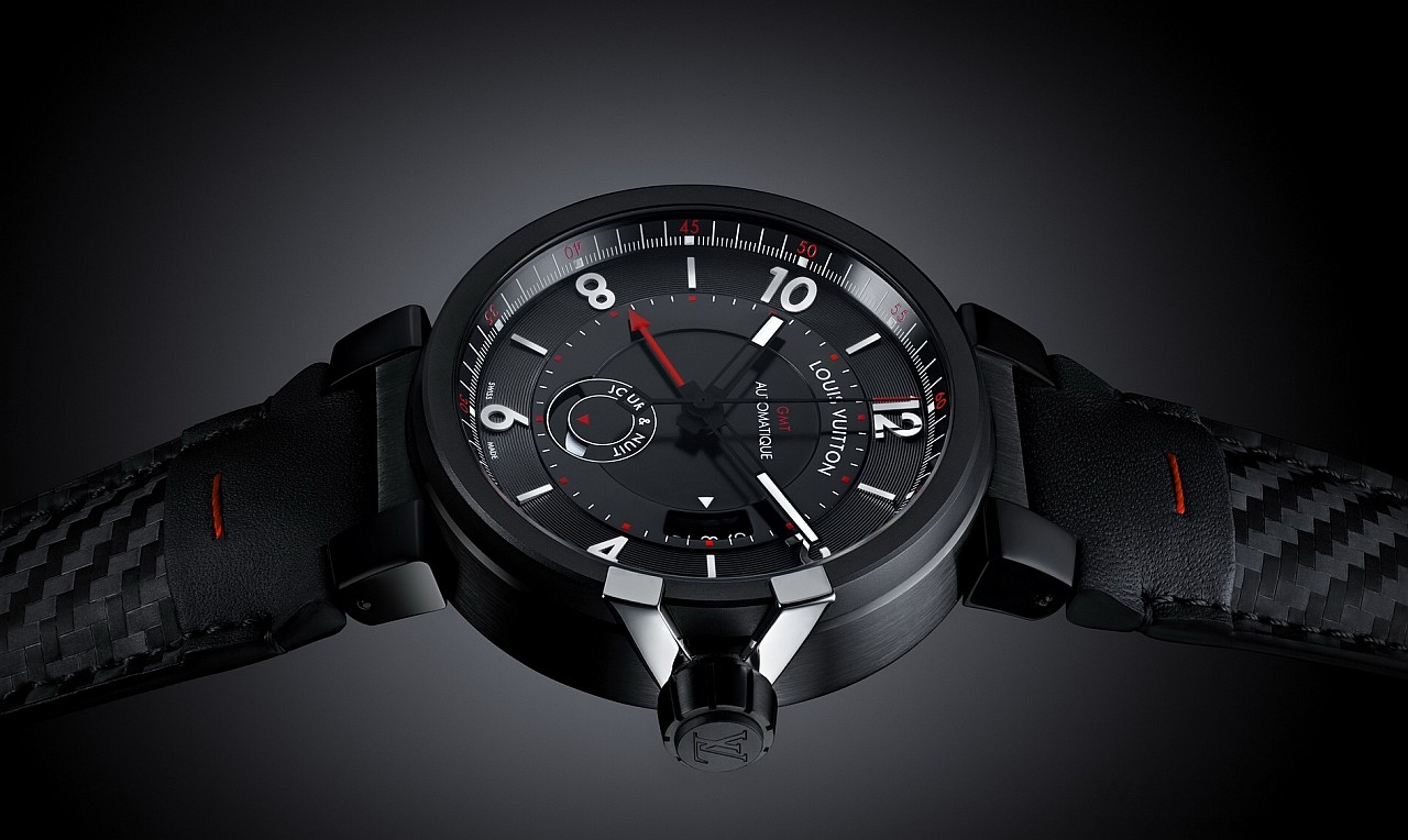 【2015 Pre-Basel報導】Louis Vuitton Tambour éVolution In Black腕錶系列
