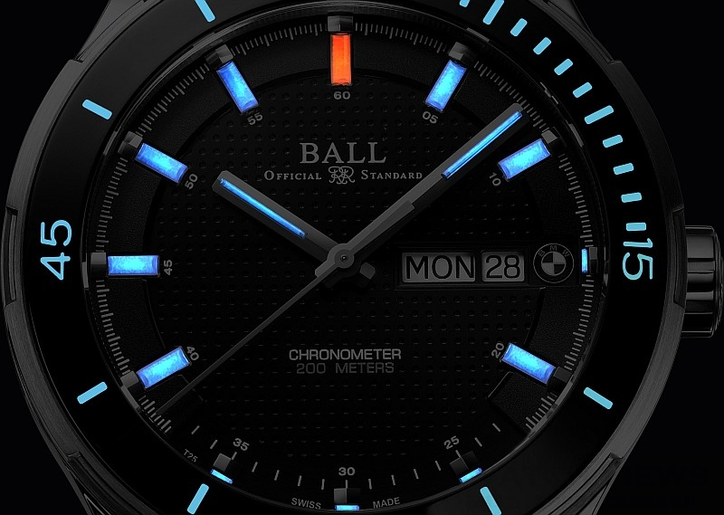 【2015 Pre-Basel】BALL Watch呈獻最新汽車型號腕錶BALL for BMW Timetrekker