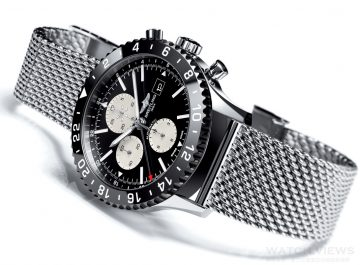 【2015 Pre-Basel報導】Breitling Chronoliner Flight Captain Chronograph 正規的機長專用腕錶