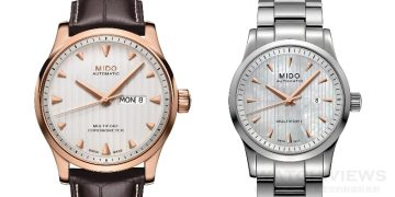 【2015 Pre-Basel報導】MIDO Multifort Caliber 80 Chronometer男錶、Multifort Lady Mother-of-Pearl女錶