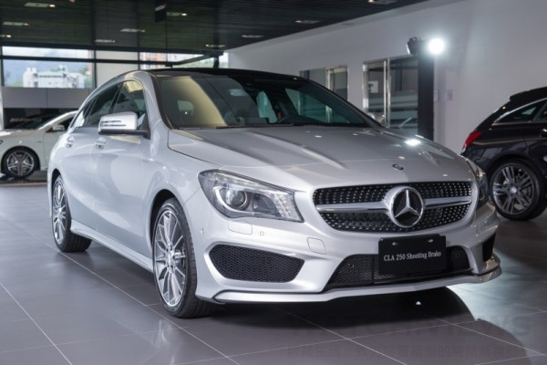 The new CLA Shooting Brake 250