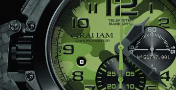 GRAHAM CHRONOFIGHTER OVERSIZE BLACK ARROW 超大尺寸計時碼錶 – 黑箭系列