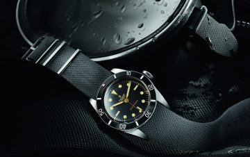 Tudor Heritage Black Bay One:專為ONLY WATCH 2015特別製作