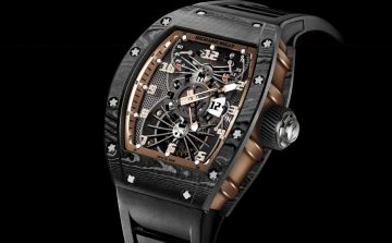 重磅飛行器:Richard Mille推出Tourbillon RM 022 Aerodyne Dual Time Zone Asia Edition陀飛輪雙時區腕錶亞洲版