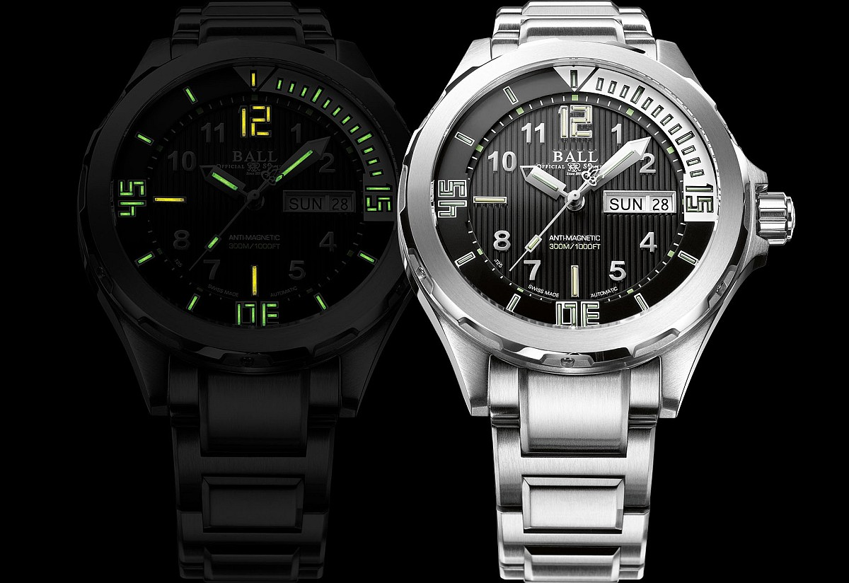 �y��Guillaume Néry��s�`��126�̬���ABALL Watch���X���sEngineer Master II Diver ���