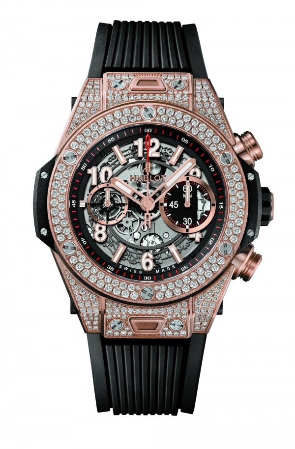 HUBLOT Big Bang Unico King Gold Pave_411.OX.1180.RX.1704