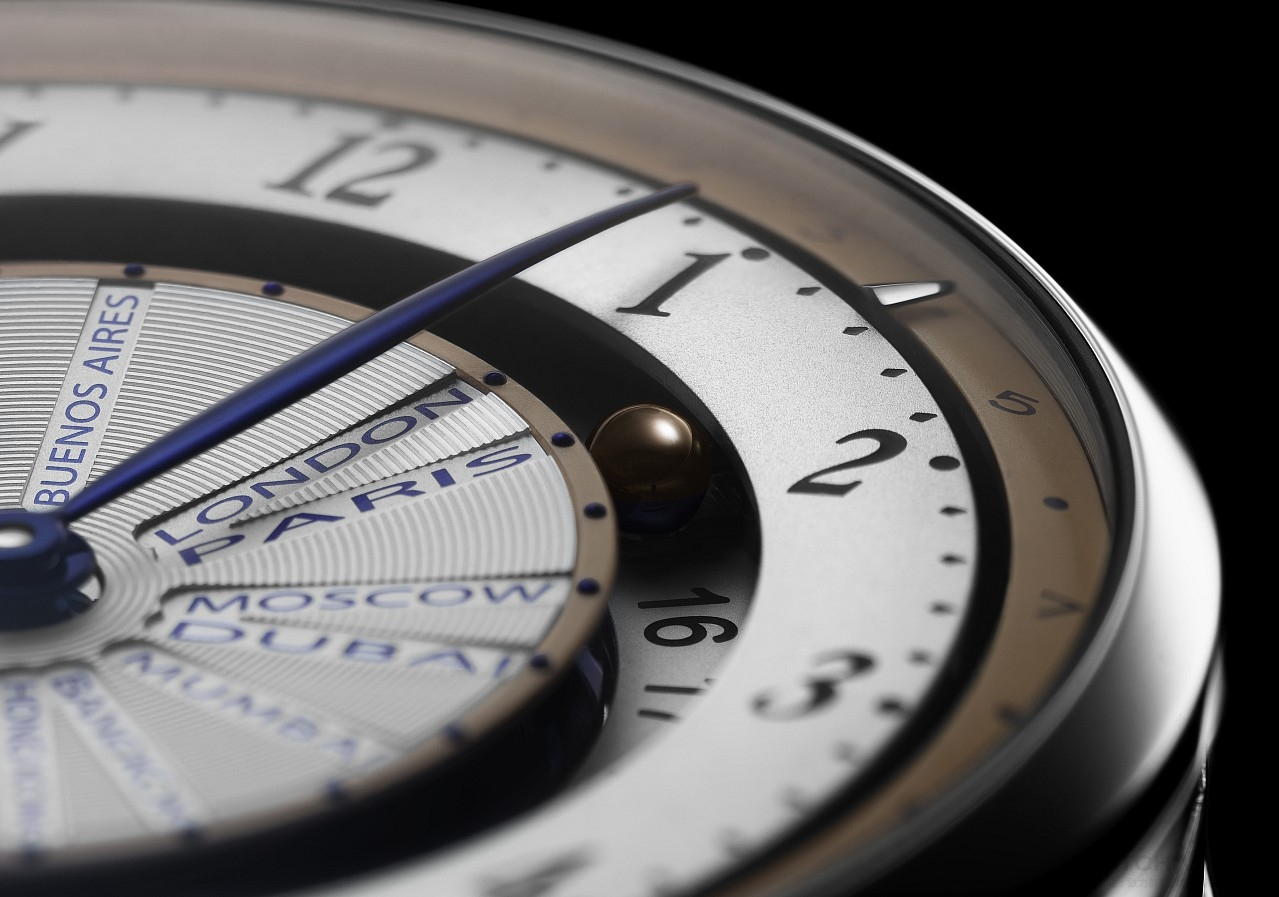 De Bethune DB25 World Traveller世界時間腕錶