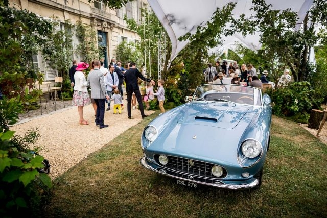 Private VIP Richard Miles venue during Concours Art & Elegance Richard Mille 2016 at Chantilly on September 4th 2016 - Photo Alexis Goure / DPPI
