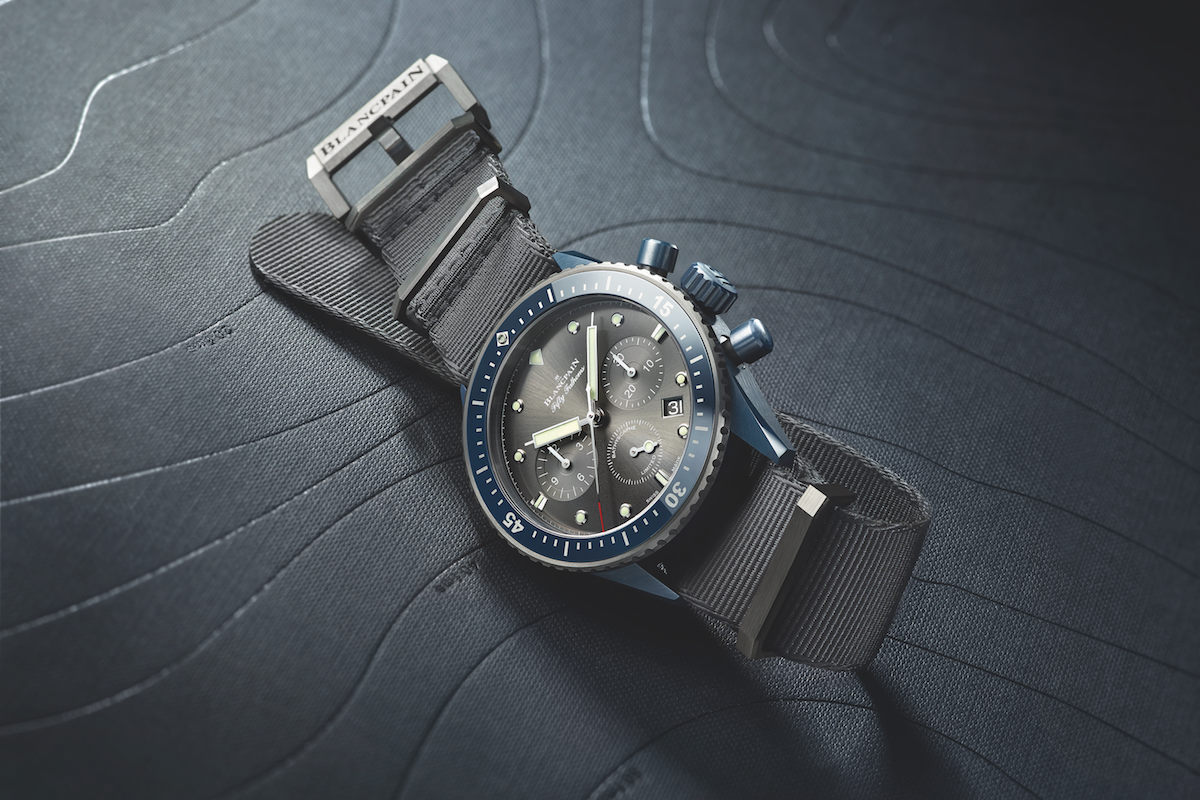 "承諾保育海洋  寶鉑始終如一Blancpain Fifty Fathoms Bathyscaphe Flyback Chronograph ""Blancpain Ocean Commitment II"""