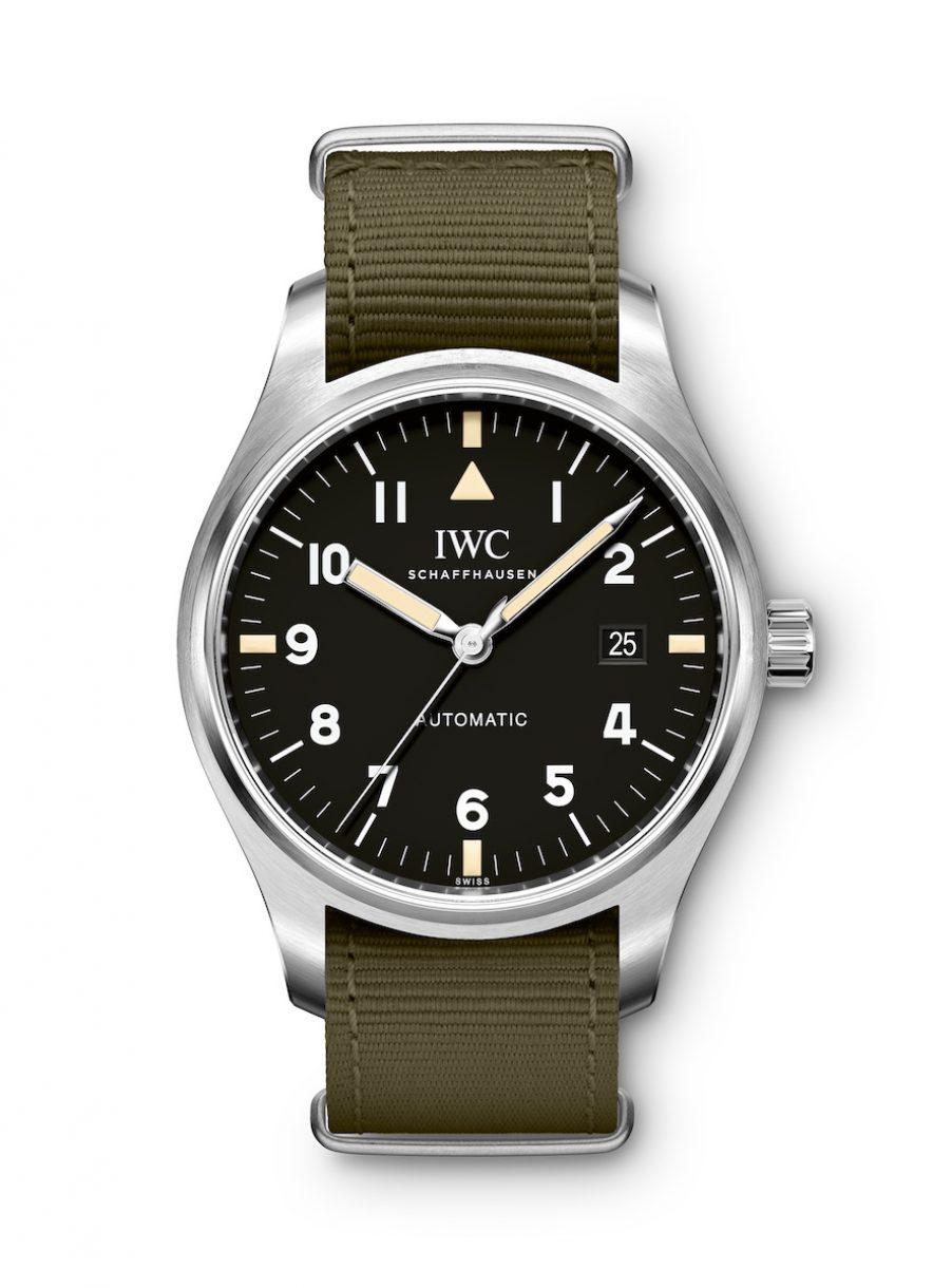 "Pilot's Watch Mark XVIII Edition ""Tribute to Mark XI"" 正面"
