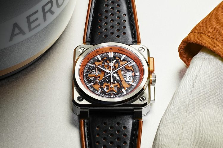展現腕錶的機械之美:Bell & Ross BR 03 ORANGE AERO GT