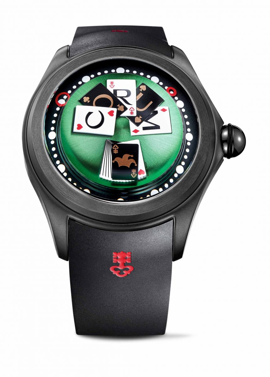 CORUM Big Bubble Poker Game腕錶,參考售價 NTD 240,000