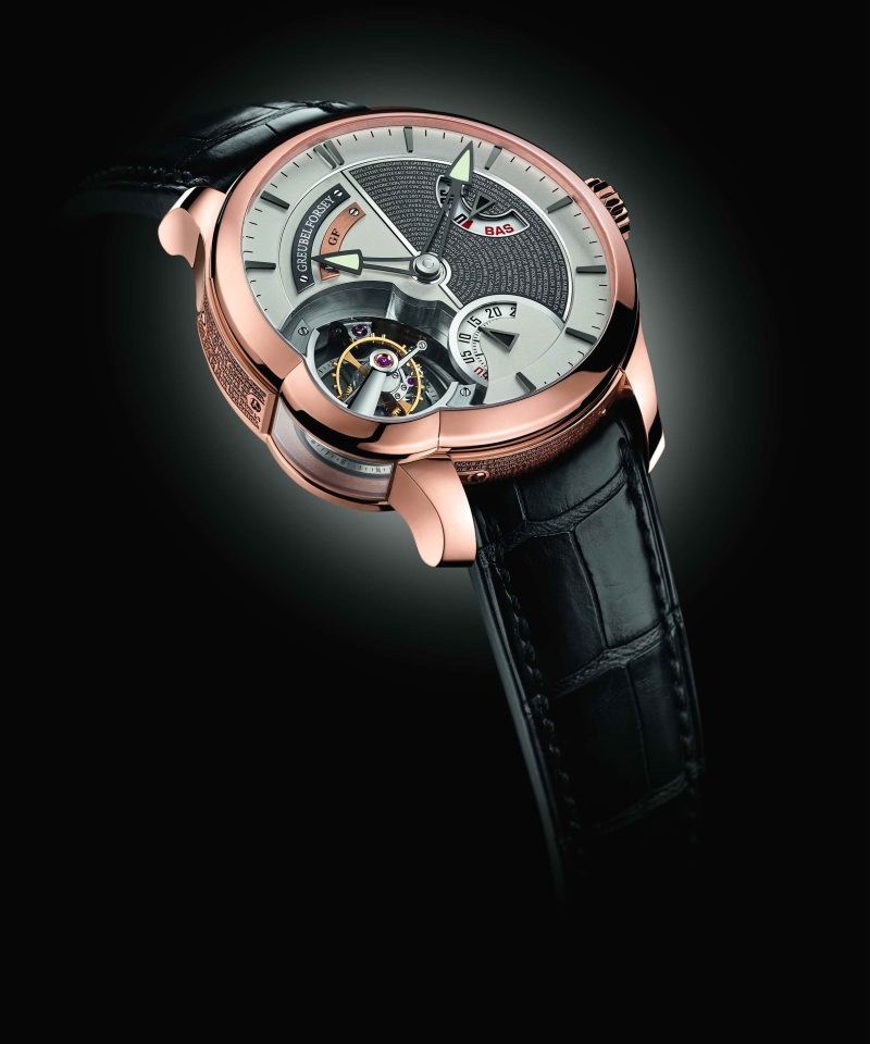 Greubel Forsey Tourbillon 24 Seconds Edition Historique,建議售價NT$12,500,000。