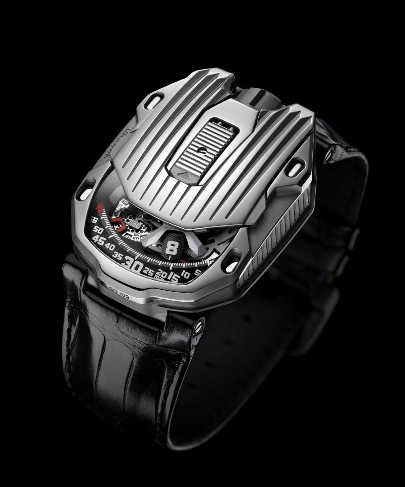 URWERK UR-105 CT Streamliner,建議售價NT$2,360,000。
