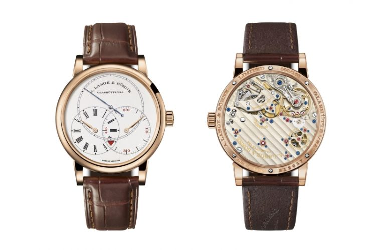A. Lange & Söhne朗格推出Richard Lange Jumping Seconds玫瑰金版本
