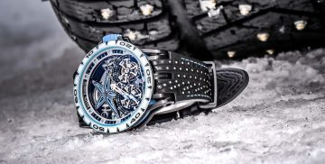 登峰造極,創奇世界:Roger Dubuis羅杰杜彼Excalibur Spider系列Pirelli Sottozero™腕錶