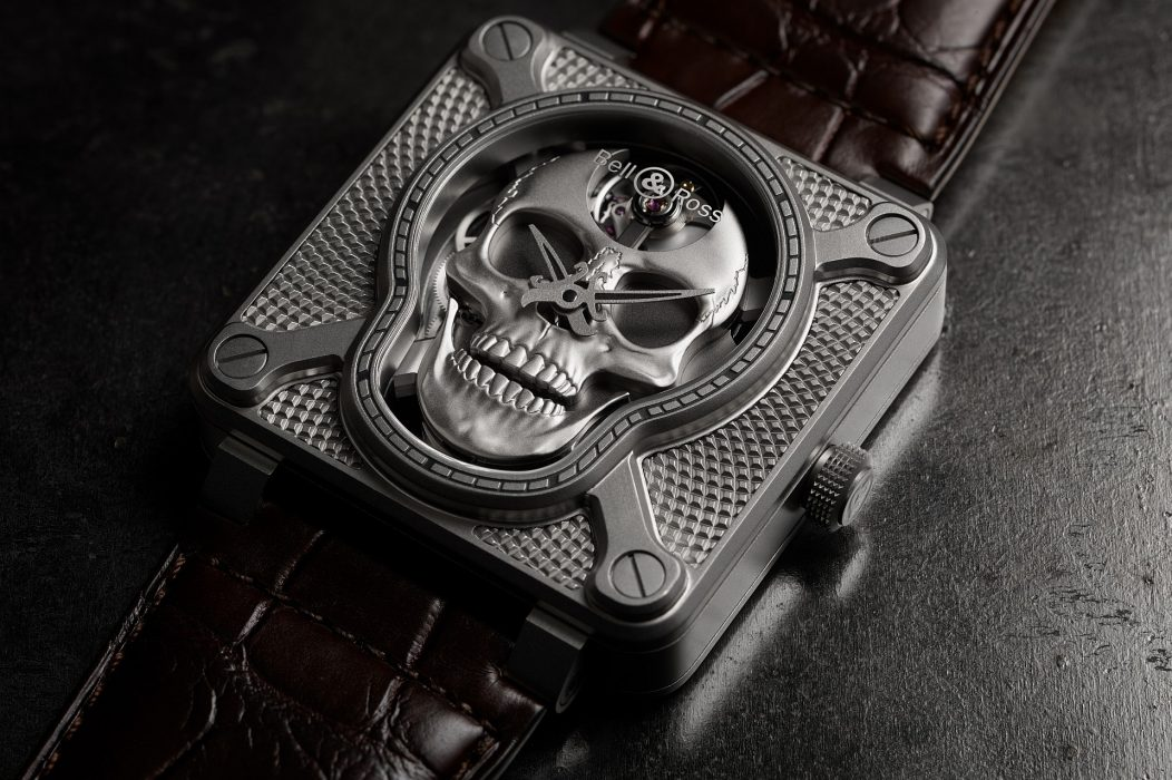 愛笑的骷髏:Bell & Ross BR 01 Laughing Skull腕錶