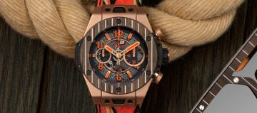 拿柚木做錶:Hublot Big Bang Unico Teak Italia Independent
