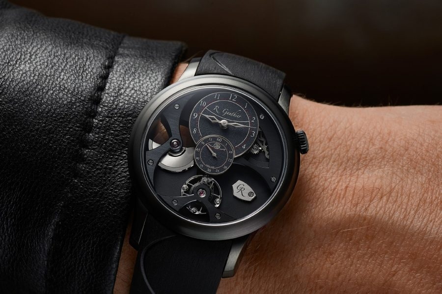 Romain Gauthier Insight Micro-Rotor Black Titanium:最精緻的運動風味