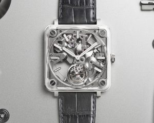 Bell & Ross BR-X2 Skeleton Tourbillon Micro-Rotor微型擺陀鏤通陀飛輪腕錶