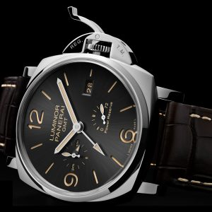 三明治結構兩地時間:Panerai Luminor Due 3 Days GMT Power Reserve Automatic 3