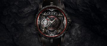 四顆擺輪上陣:Roger Dubuis Excalibur Quatuor Carbon(Video)