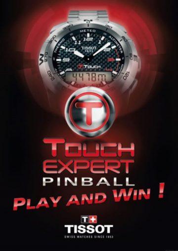 瘋彈珠得名錶!天梭表搶先推出App遊戲T-Touch Expert 彈珠擂台新潮登場