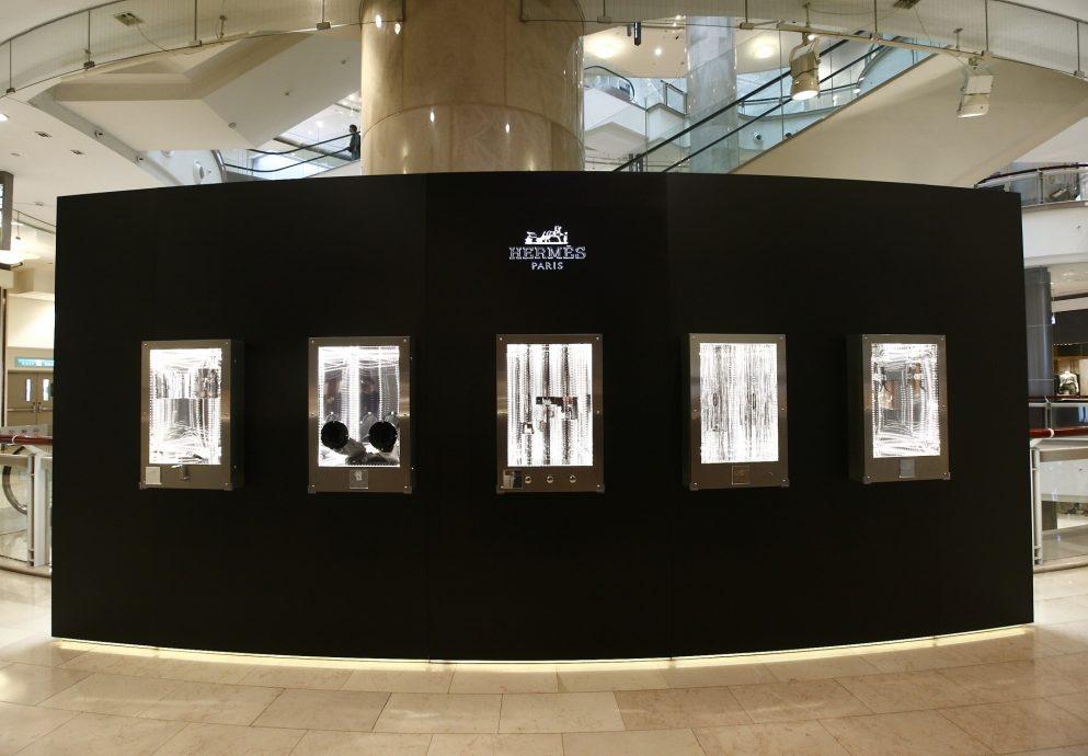 每一個剎那組合成永恆:愛馬仕「時間迴廊」機械腕錶展3月29日至4月8日於台北101一樓愛馬仕鐘錶珠寶專門店舉行