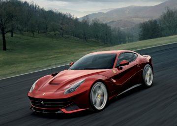 法拉利12缸車型F12 Berlinetta日內瓦車展全球首發