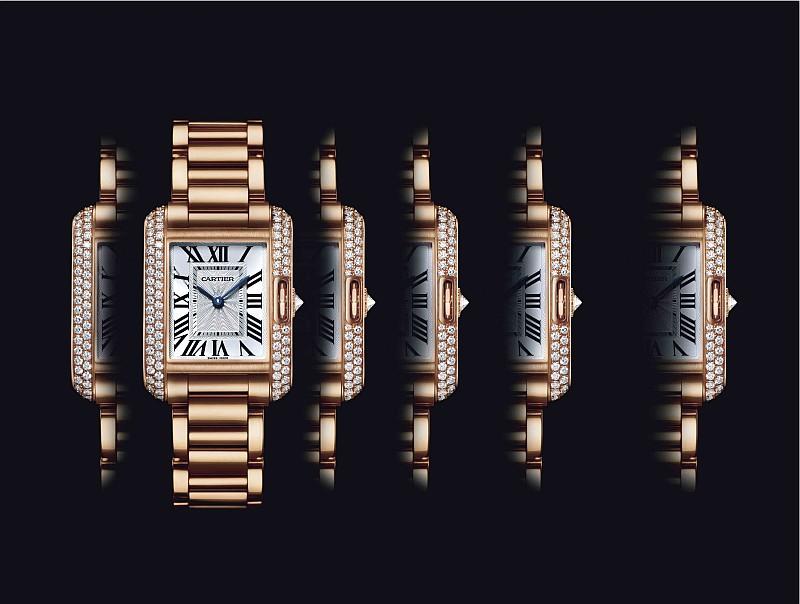 永不停息的坦克:Cartier卡地亞推出全新Tank坦克錶系列