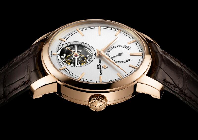 江詩丹頓Patrimony Traditionnelle 14天動力儲存陀飛輪腕錶:首款獲得「日內瓦印記」全新標準認證