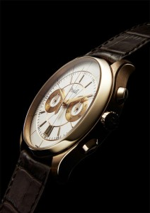 Gouverneur玫瑰金自動計時碼錶