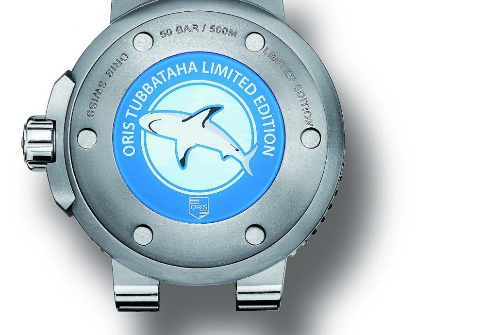 海洋保育:全新Oris Tubbataha限量錶