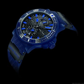 Ulysse Nardin雅典Blue Sea限量腕錶揚帆出海