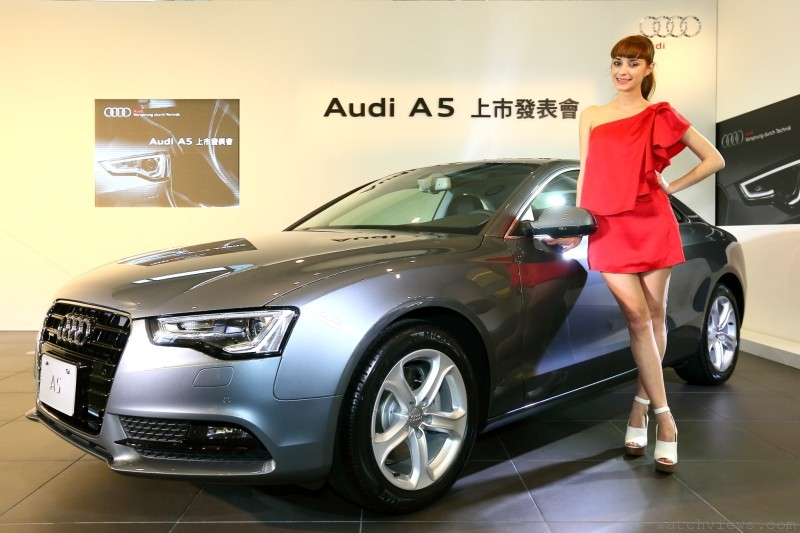 美型轎跑雙星:全新Audi A5 Coupe雙門轎跑/ A5 Sportback四門轎跑上市