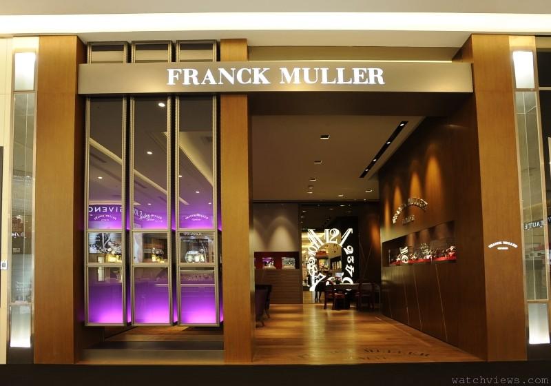 FRANCK MULLER精品專賣店進駐台中大遠百: 特展全系列頂級陀飛輪腕錶
