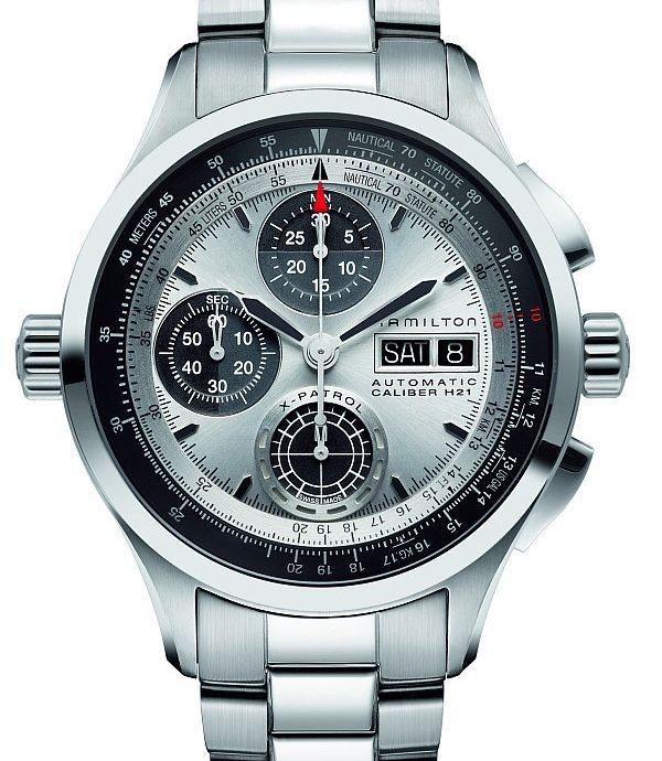 來回轉換公制與英制單位的終極工具:Hamilton Khaki X-Patrol腕錶