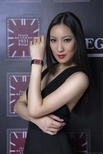 SIHH2012全新積家Reverso錶款來台,Grande Reverso 1931 Rouge大型紅色錶盤翻轉腕錶首次現身