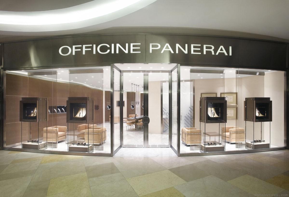 Officine Panerai沛納海新加坡旗艦店隆重開幕
