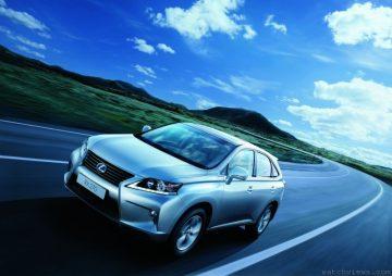 LEXUS RX2013年式全新上市 RX 270起價193萬、RX 350開價265萬