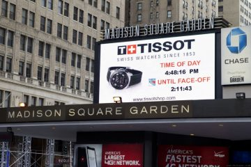 頂尖與優越的世紀合作:TISSOT正式成為尼克隊母集團麥迪遜花園廣場公司官方指定計時器