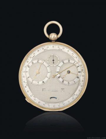 寶璣斥資近2億2千萬拍入兩款珍貴古董懷錶